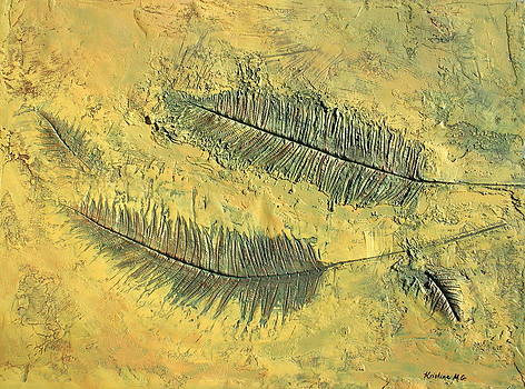 Fern Fossil by Kristine Mueller Griffith