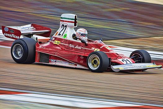 Ferrari 312T by Peter Falkner