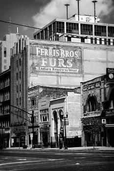 Scott Hovind - Ferris Brothers Furs Black and White