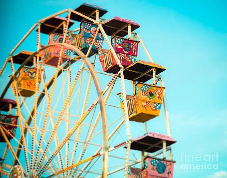 Sonja Quintero - Ferris Wheel at Dusk