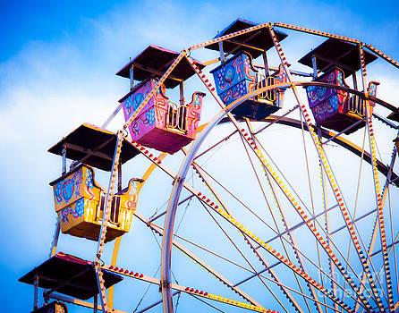 Sonja Quintero - Ferris Wheel in Summer