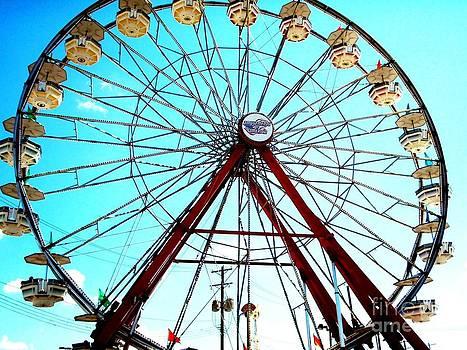 Ferris Wheel Ohio State Fair by Malachi S