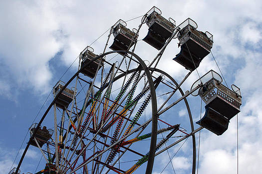 Ferris Wheel Three by Laurie Poetschke