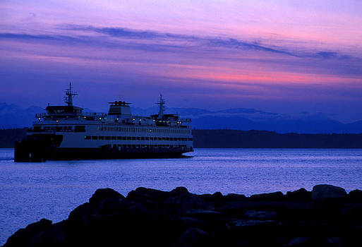 Ferry at Twilight  by Glenn McGloughlin