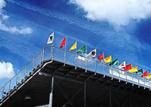 Judy Hall-Folde - Festival Flags