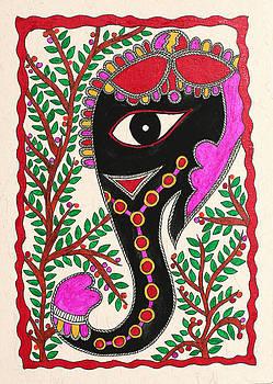 Festive Elephant by Neha Dasgupta