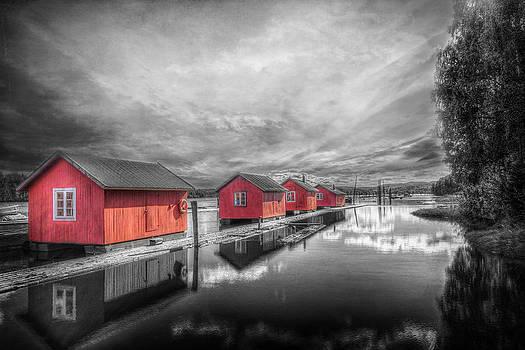 Fetsund Timber Booms by Erik Brede