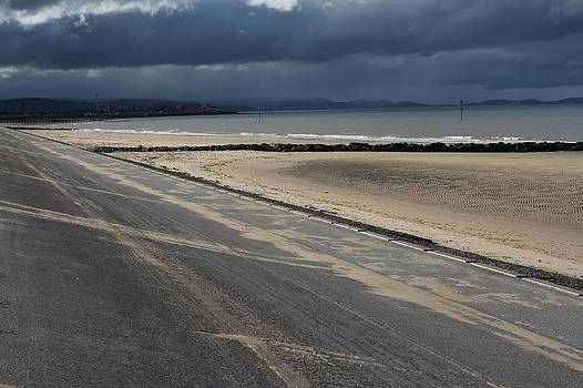 Ffrith Beach Lines by Emma Manners