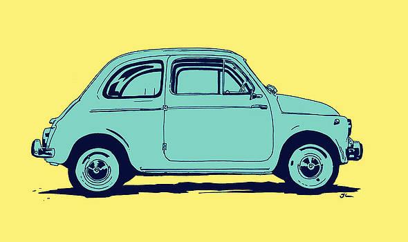 Fiat 500 by Giuseppe Cristiano