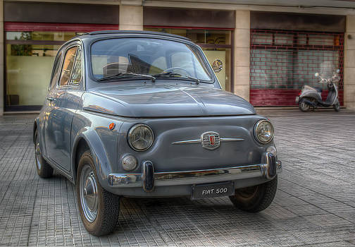 Fiat 500 by Leonardo Marangi