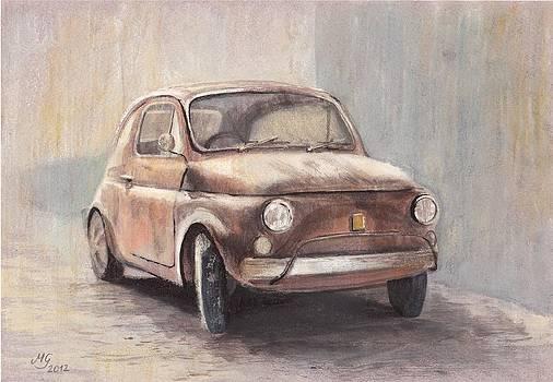 Fiat 500 by Milena Gawlik