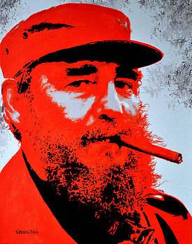 Fidel Castro by Victor Minca