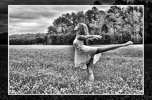 Field of Dreams B and W by Tazz Anderson
