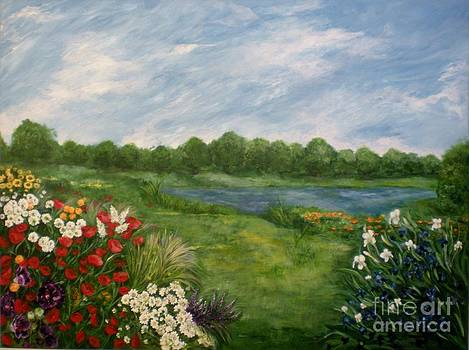 Field of Flowers by Graciela Castro