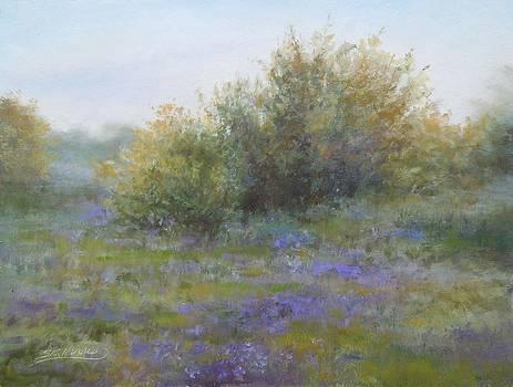 Field of Purple Iris by Sharen AK Harris