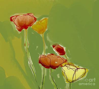 Field Poppies by Linde Townsend