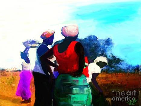 Field Women by Vannetta Ferguson