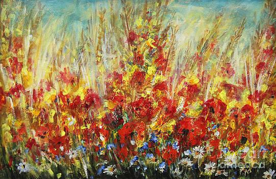 Fields Of Dreams II by Dariusz Orszulik