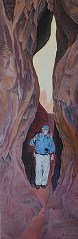 Fiery Furnace Slot Canyons by Nick Froyd