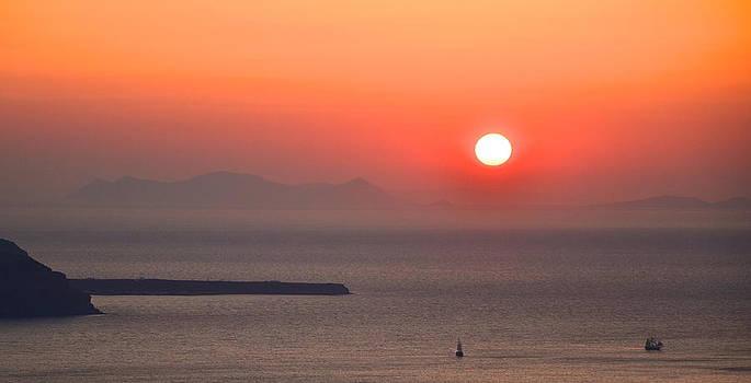 Corinne Rhode - Fiery Sunset