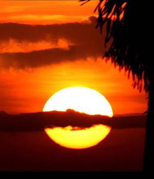 Fiery Sunset by Jassodra Kuizon