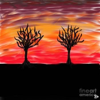 Fiery Twins by Andy Heavens