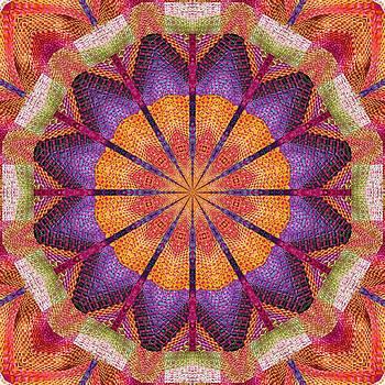 Barbara Drake - Fiesta Kaleidoscope Basket