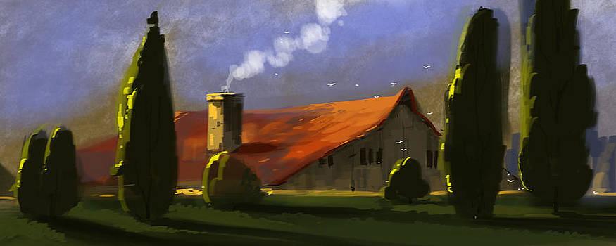 Fifteen Minutes Digital Painting.. by Shajeersainu Sainu