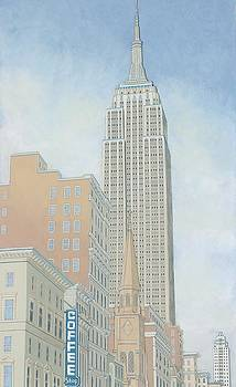 Fifth Avenue Morning by David Hinchen