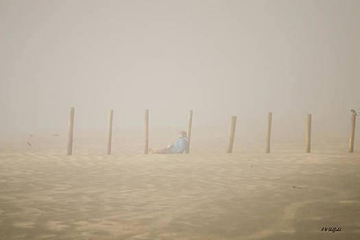 Allen Sheffield - Figure in the Fog