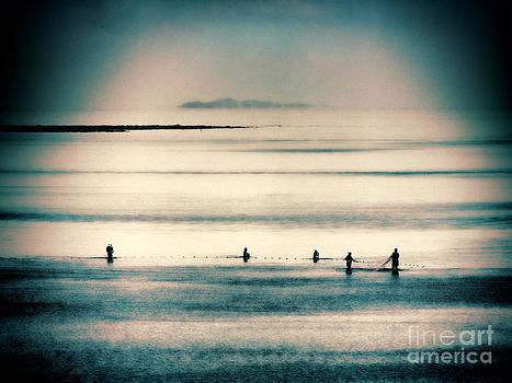 Fijian Fishermen by Karen Lewis