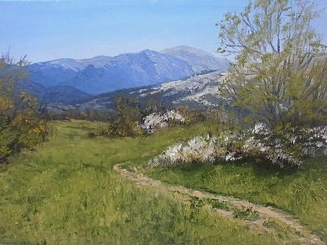 Finally again spring by Yaroslav Kuvshinov