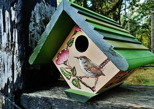 Fine Art WrenHouse by VLee Watson