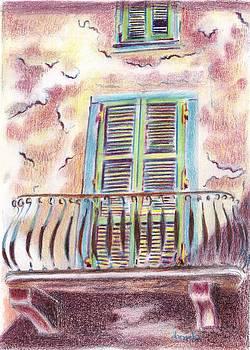 Finestra di Pontremoli by Daniela Johnson