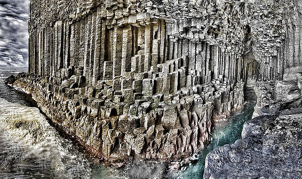 Fingal's Cave interior Panorama Scotland by Mr Bennett Kent