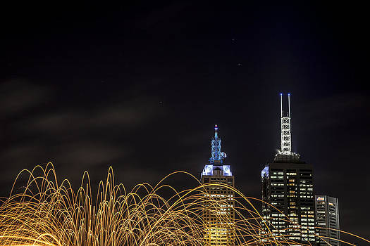 Fire and Lights by Shari Mattox