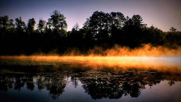 Fire and water by Slawek Sepko