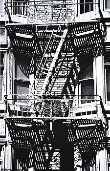 Fire Escape by Larry Butterworth