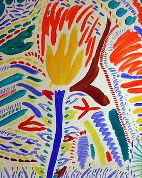 Fire Flower by Julia Aversano