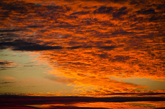 Fire In The Sky by Eleanor Ivins
