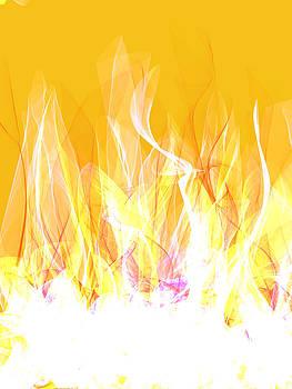 Fire by Saina Art