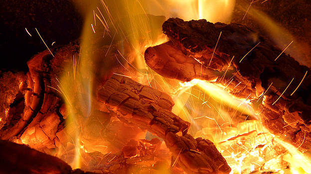 Fire Sparks by Joseph Desmond