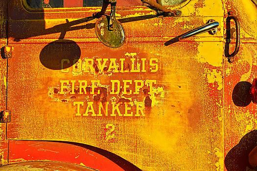 Fire Tanker by Thomas J Rhodes