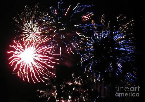 Firework - Saint Denis - Ile De La Reunion - Reunin Island - Indian Ocean by Francoise Leandre