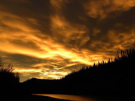 Firey Sky by Kyla Heath