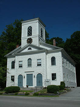 First Congregational Church of Norwichtown CT by Geoffrey McLean