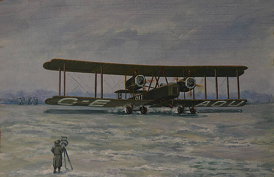 First England-Australia Flight 1919 by Murray McLeod