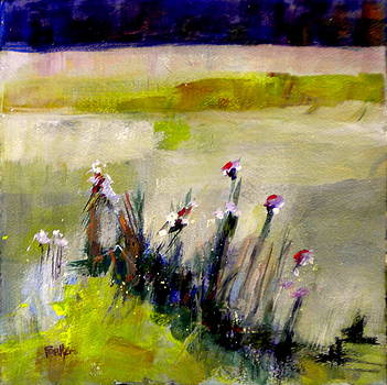 First Flowers by Sally Bullers