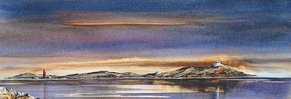 First Light At Dalkey by Roland Byrne