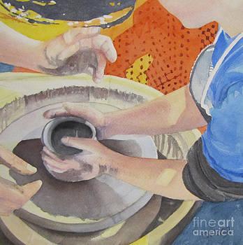 First Pot by Carol Flagg